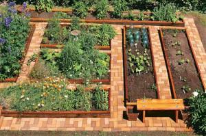 удобные садовые дорожки из киропича