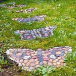 дача своими руками садовые дорожки с мозаикой
