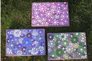 как сделать дорожку с мозаикой самому