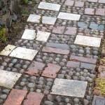 дорожки в саду из плитки