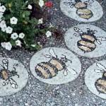 садовые дорожки из тротуарных плит сделанных своими руками