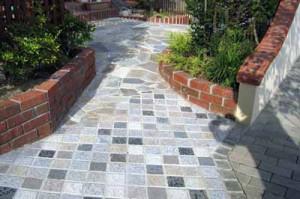 садовые дорожки из тьротуарной плитки