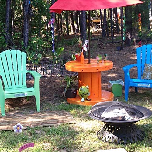 садовая мебель из бу дерева