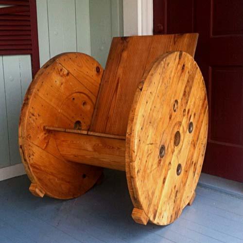 кресло для дачи из подручных материалов