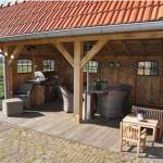 летняя кухня на дачном участке