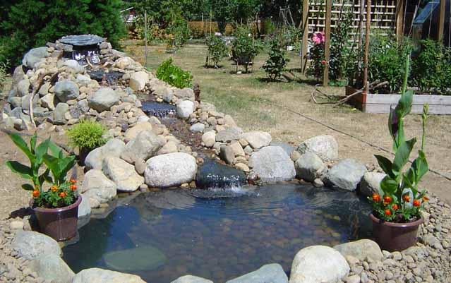 водопа в саду