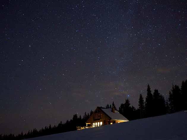 необычные дома на самом краю земли