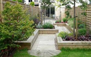 огород в ландшафтном дизайне садового участка