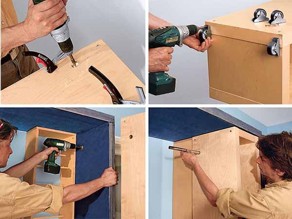 шкаф-трансформер своими руками пошаговая инструкция