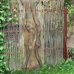 красивый необычный забор