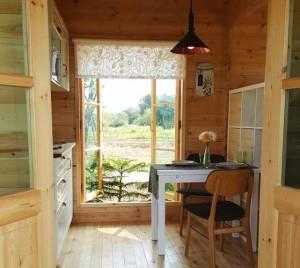 каркасный дачный домик фото