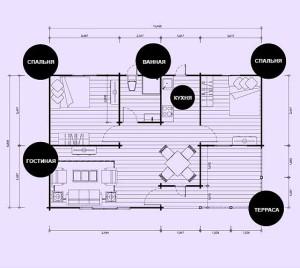 каркасный дом проект