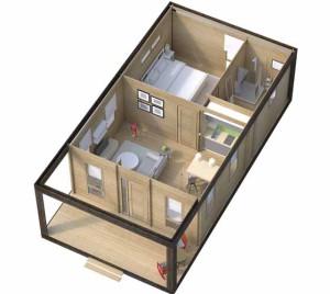 каркасный дом проект 2