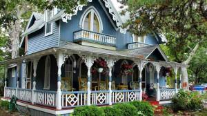 красивая терраса к дому фото