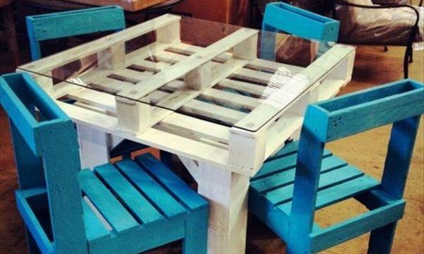 стулья из поддонов