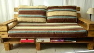диван из поддонов