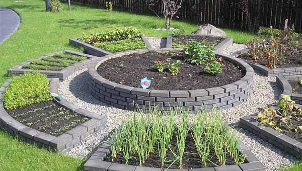 дизайн огорода пример