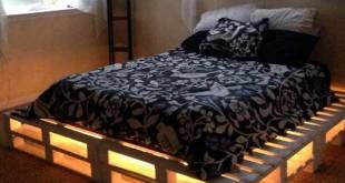 как сделать кровать из поддонов своими руками