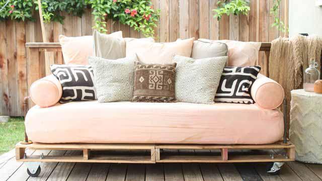 проекты мебели из поддонов