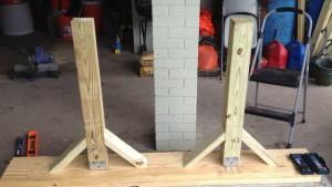 как сделать скамейку для дачи