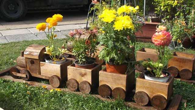 Идеи для сада своими руками ТОП 10 поделок (50 фото) 48