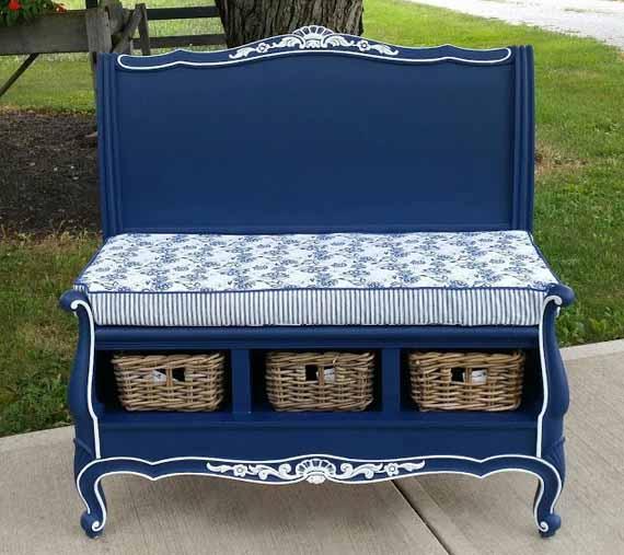 скамейка своими руками из старой мебели