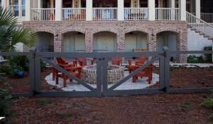 деревянные ворота своими руками