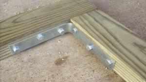 деревянная калитка для дачи