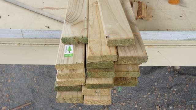 как сделать калитку из дерева