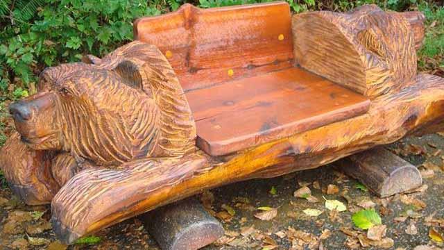 скамейка со спинкой своими руками
