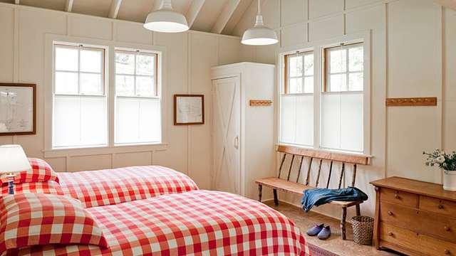 дачный домик спальня