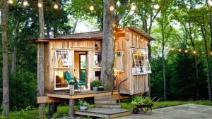 дачный домик на дереве
