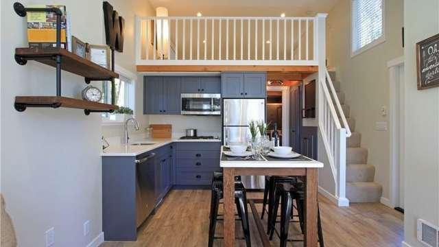 дачный домик кухня