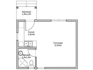 дачный домик проект