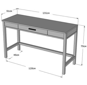 складной стол чертеж