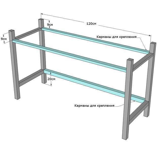 складной стол инструкция