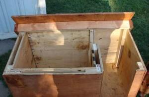 как построить теплую будку для собаки