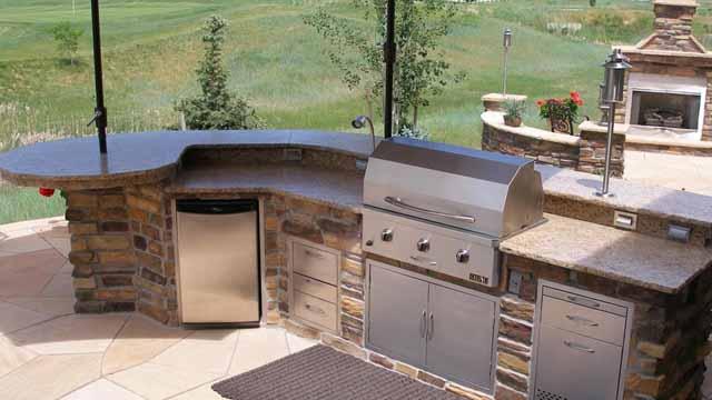 шкафы для летней кухни