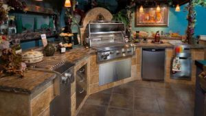 летняя кухня проект для дачи