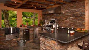 проекты летней кухни на даче