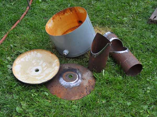 мангал печь барбекю своими руками