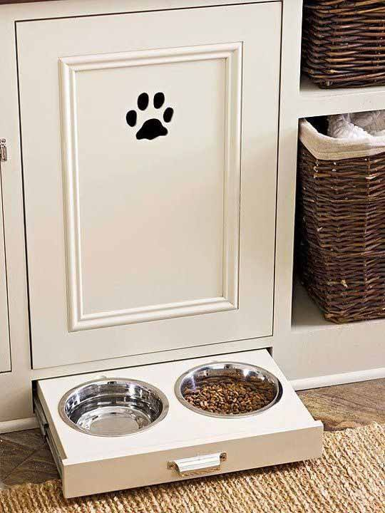 подставка для мисок для собак