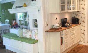 красивая дача фото кухни