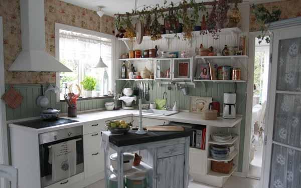 частный дом кухня фото
