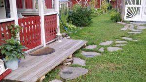 обустройство участка садовые дорожки