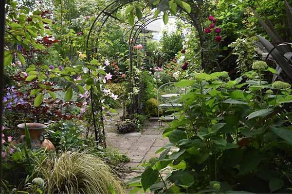 Красивый двор частного дома своими руками: как 45