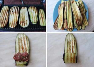 рулетики из баклажан в духовке