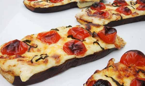пицца из баклажан в духовке