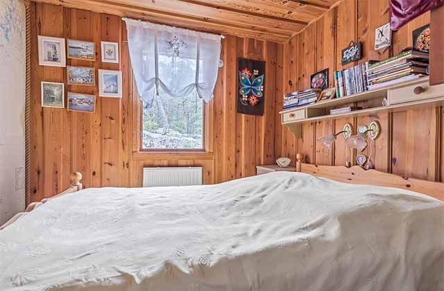 дачный дом спальня