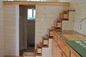 как использовать пространство под лестницей в дчном доме